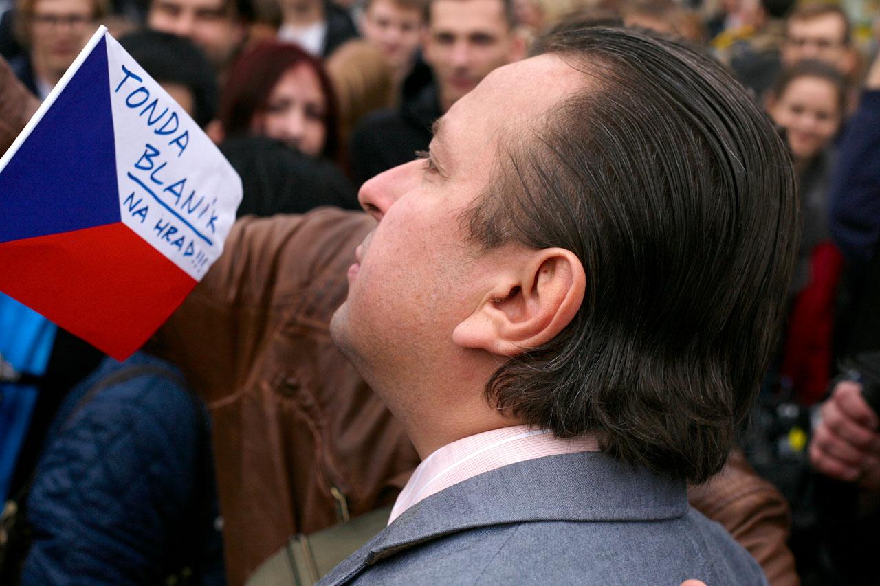 Prezident Blaník | zdroj: www.ceskatelevize.cz